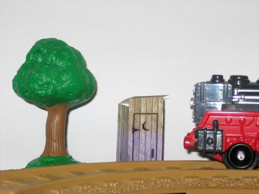 Picture of GeoTrax Outhouse Model