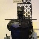 Batman: steel knight upper armour custom