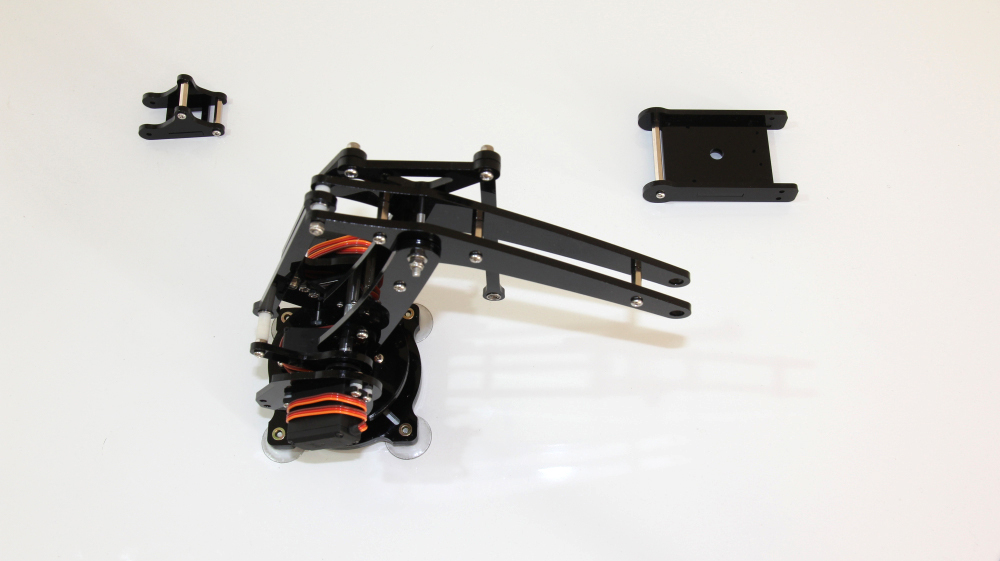 Picture of Install All the Parts Together to Make the Arm