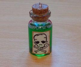 Poison Bottle Charm