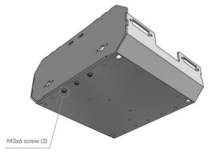 Assemble the Chassis With M3x6 Screws and Nuts