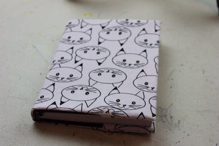 Fabric Diary Cover