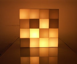 Glittering Candle Screen