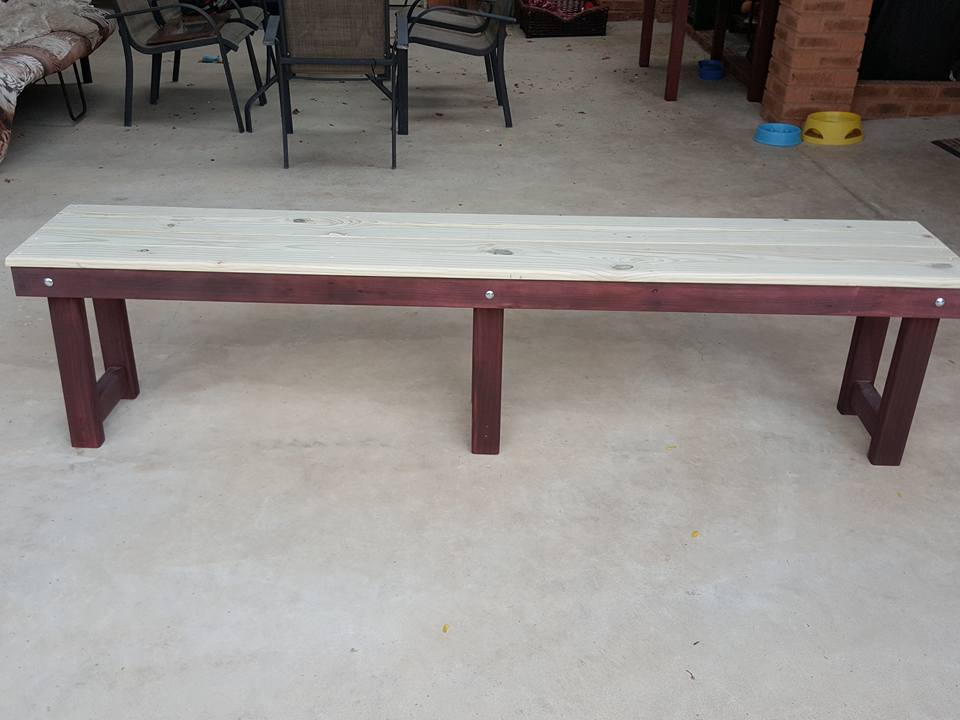 Picture of Adding the Bench Planks