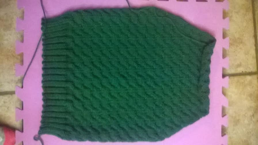 Picture of Knit the Front and Back Pieces