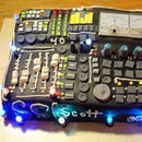 Soundboard cake with working volt meters