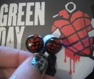 DIY Heart Grenade Earphones