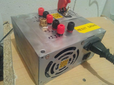 How to Make a DC Power Supply