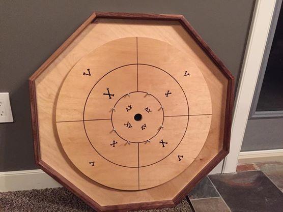 Picture of Crokinole Board