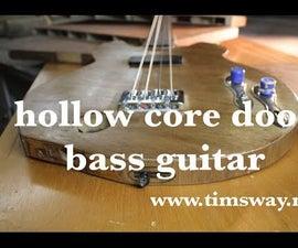 Make a Guitar From a Hollow Core Door