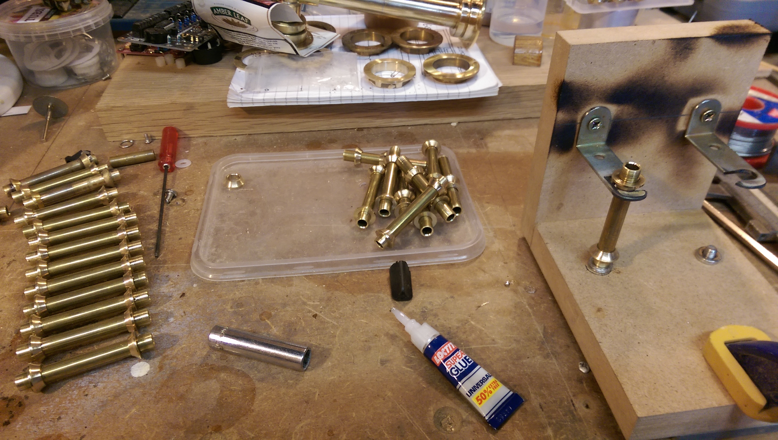 Picture of Woodwork and Brass Work Part 1.