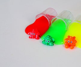 Clay Slime Surprise Whelpling Color Pencil | Rainbow Clay Slime