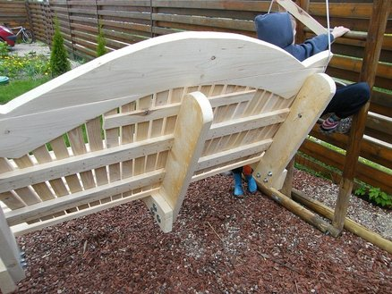 Picture of Garden Swing Bench