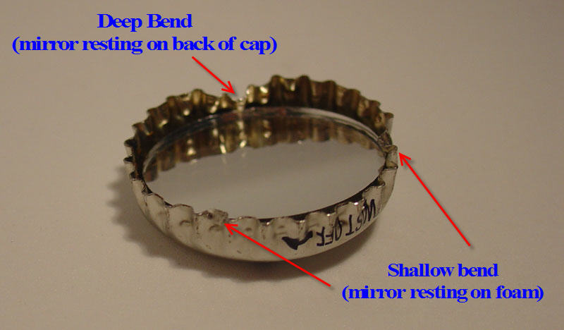 Picture of Angle & Hold Mirror in Cap