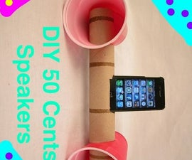 DIY 50 Cents Speakers (NO ELECTRICITY!)