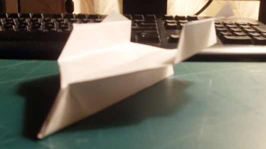 How to Make the SkySpectre Paper Airplane
