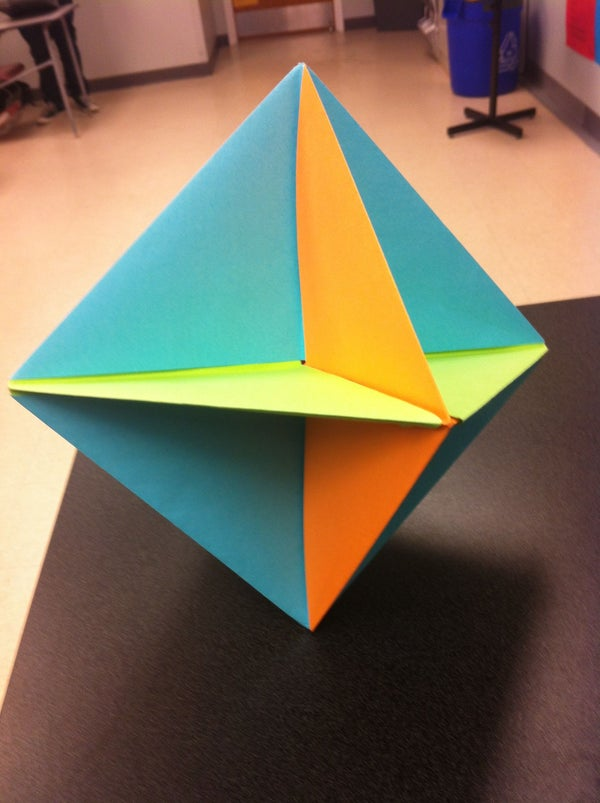 Intersecting Planes - Origami