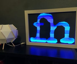 DIY Logo Sign With LED Lighting