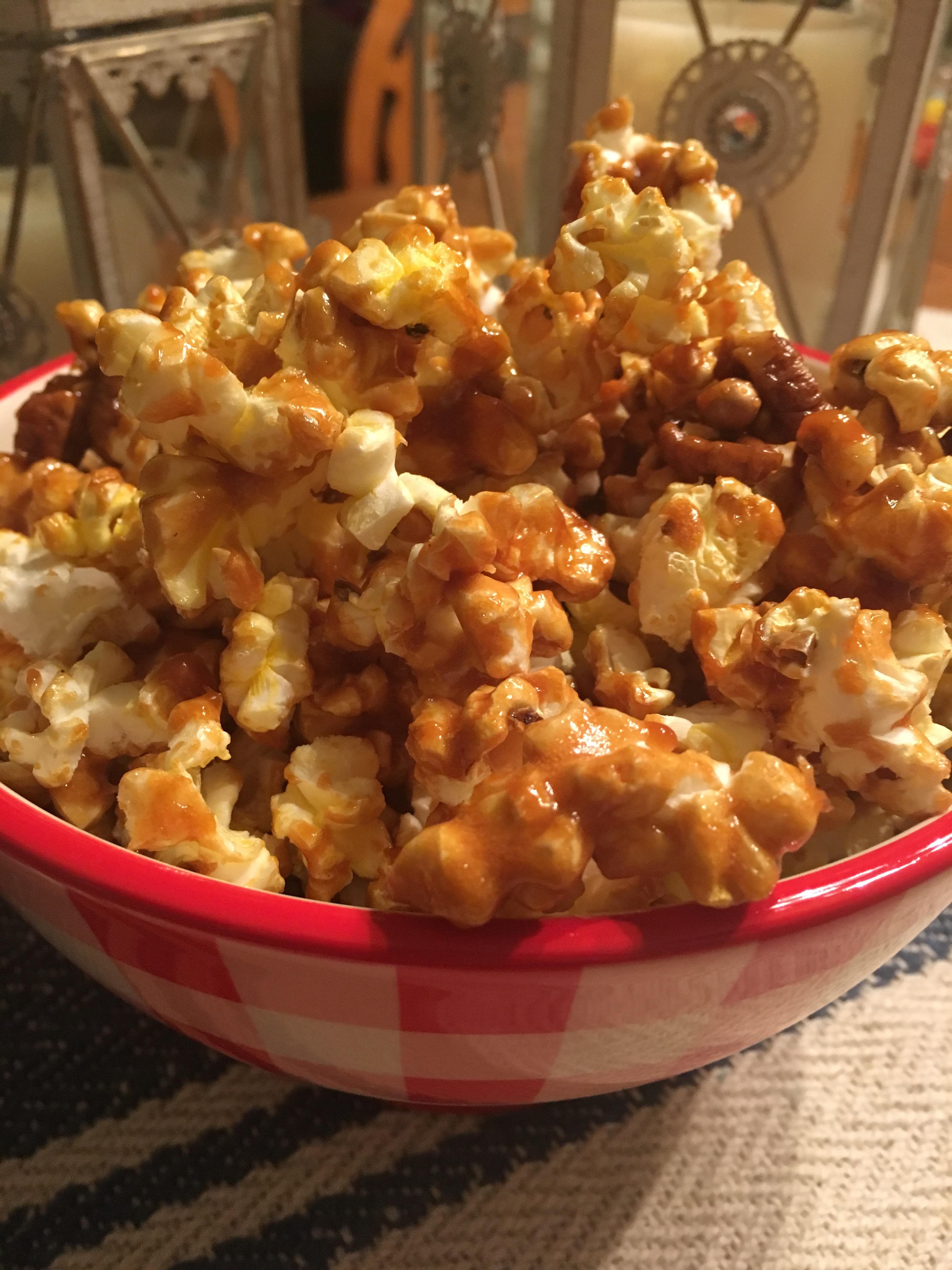Picture of Gluten Free Maple Pecan Popcorn