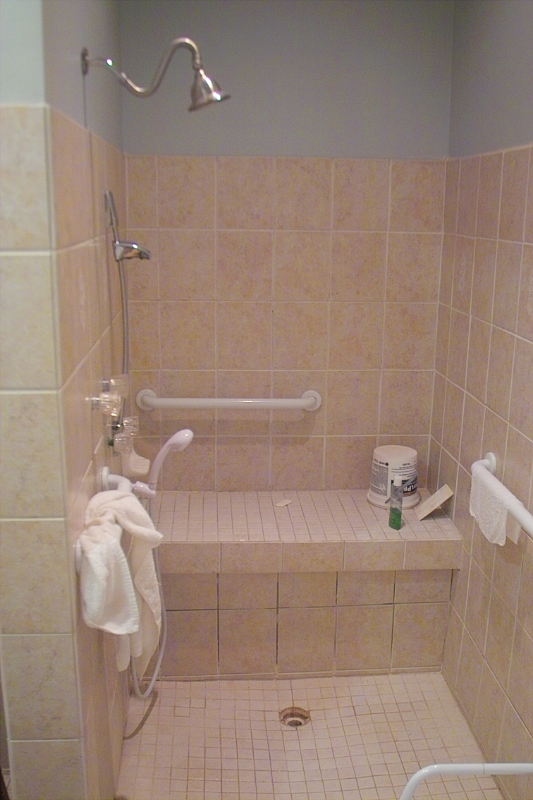Picture of How to Make a Sunken Shower With Heated Tiles