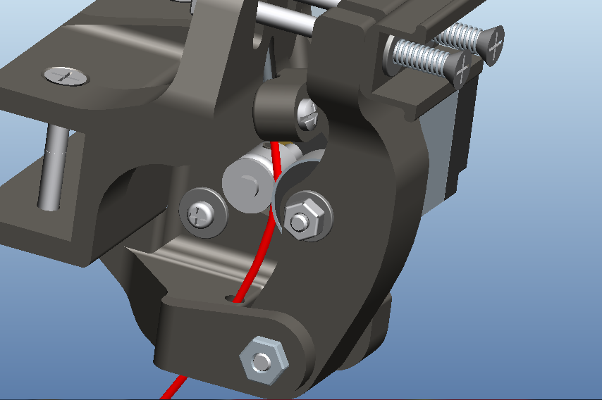 Picture of Assemble Extruder