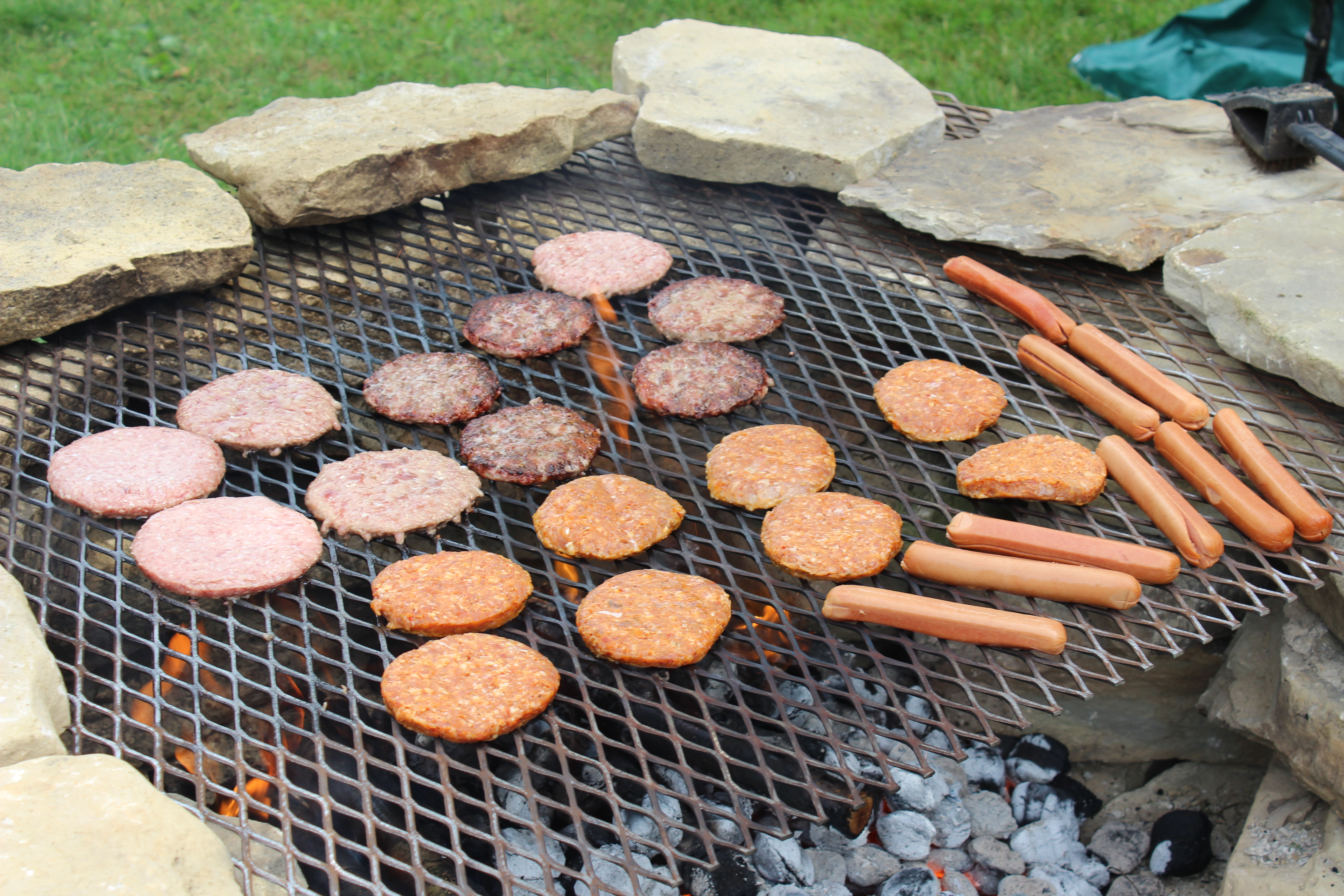 Picture of How to Build an Outside Stone Grill