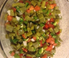 Mexican Style Nopales