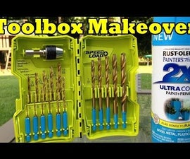 TOOLBOX MAKEOVER - Simple and Fast
