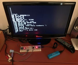 Arduino Basic PC With TV Output