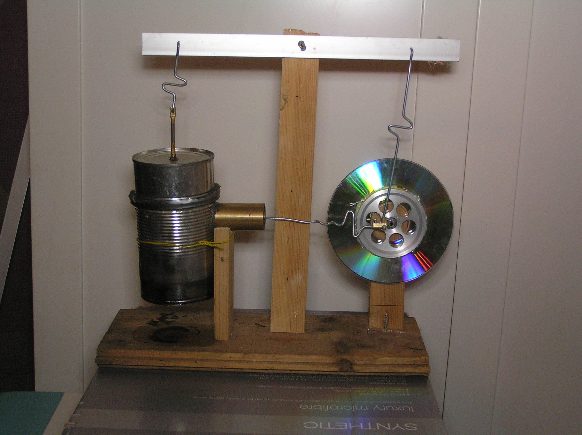 Tin Can Stirling Engine: 10 Steps (with Pictures)