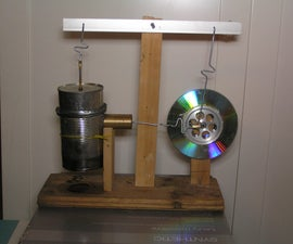 Tin Can Stirling Engine