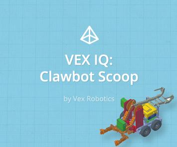 VEX IQ - ClawBot Scoop