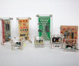 Battery Cases for Electronic Kits.