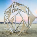 Tensegrity Goes Big For Burning Man
