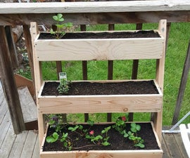 Vertical Leaning Planter