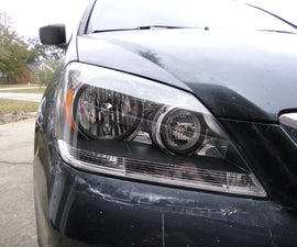 How to Restore Your Headlights