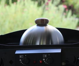 Nice and Cheap Cooking Bell Lid or Melting Dome for the Plancha and the BBQ