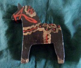Traditional Swedish Dala Horses