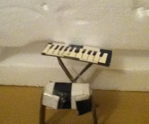 Doll Piano Keyboard