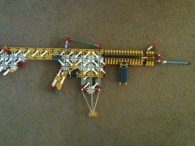 Knex M4A1 Assault Rifle