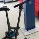Generating Voltage With an Ergometer Bike
