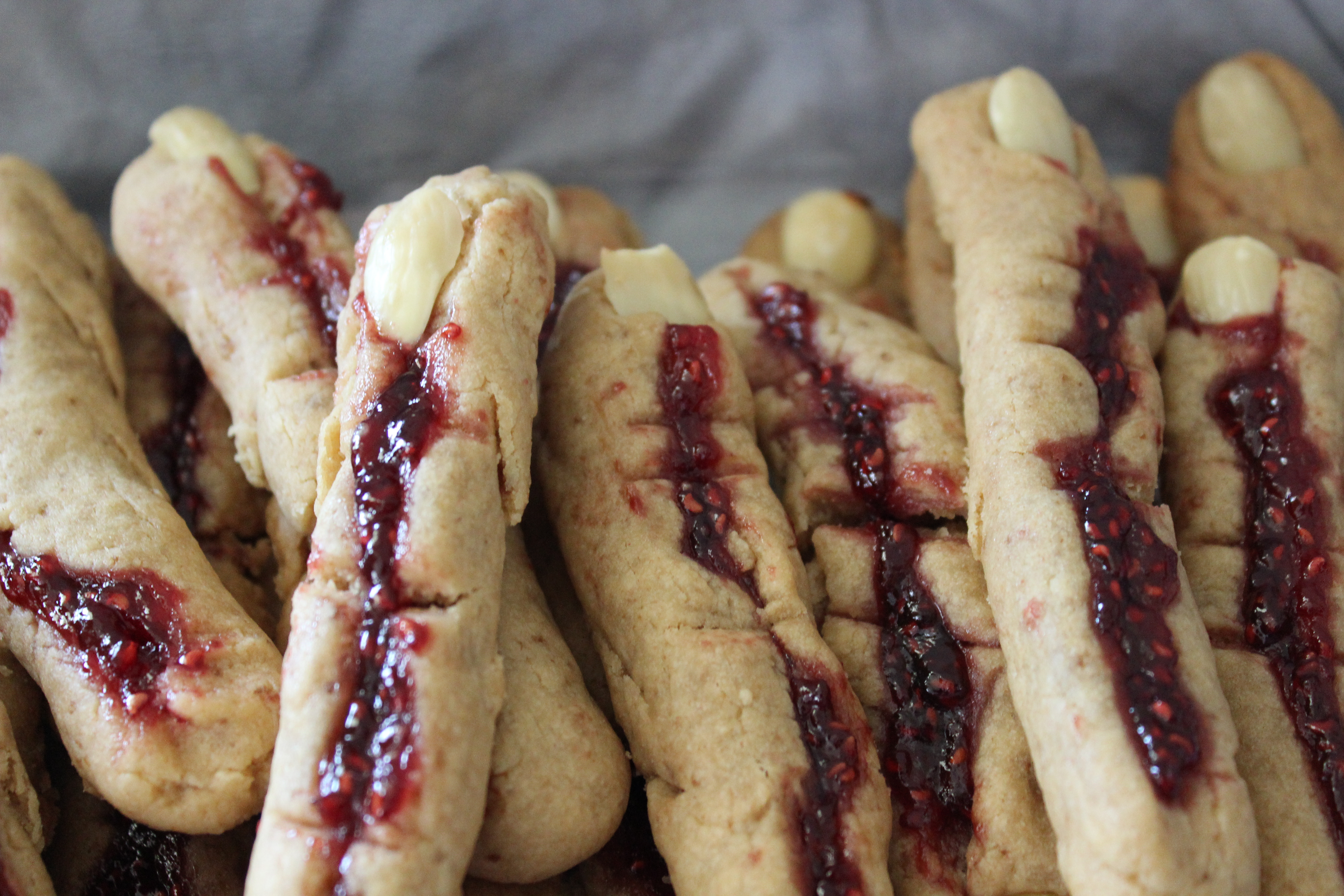 Picture of Disturbingly Creepy Finger Cookies