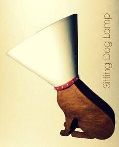 RGB LED Moodlamp (sitting Dog Lamp)