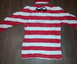 Wheres Waldo? Halloween Costume