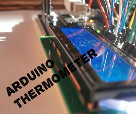 Making LCD Thermometer With Arduino And LM35/36