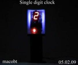 Single Digit clock