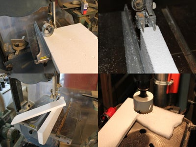 Using a Hole Cutter to Make the Chamber