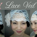 {CATHY} Lace Veil Cap: DIY Tutorial