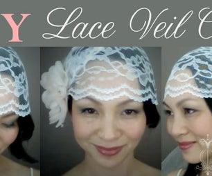 {CATHY} Lace Veil Cap: DIY Tutorial