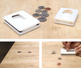 3D Printed Coin Shuffleboard